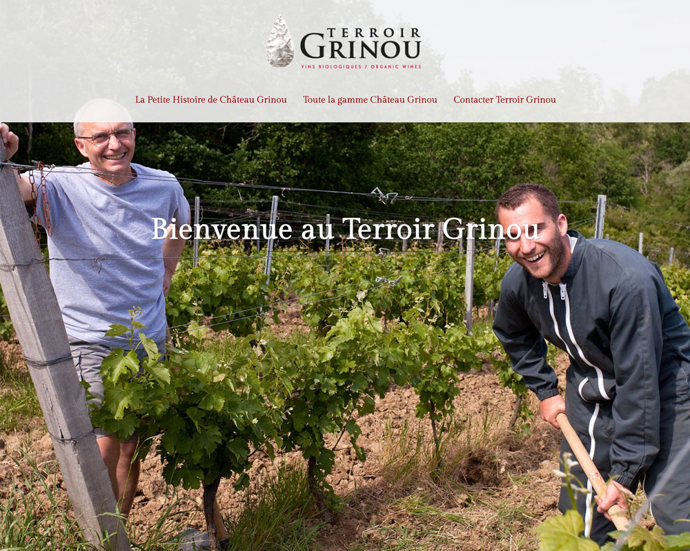 Site Terroir Grinou